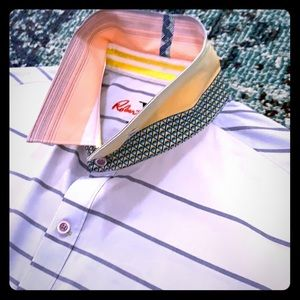 Robert Graham multi pattern and colored buttondown